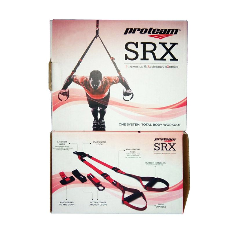 Proteam SRX Merah Hitam Alat Fitness