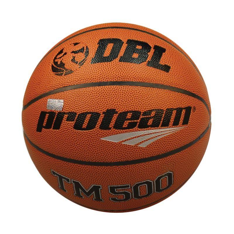 Proteam TM - 500 Coklat Bola Basket  Size 7