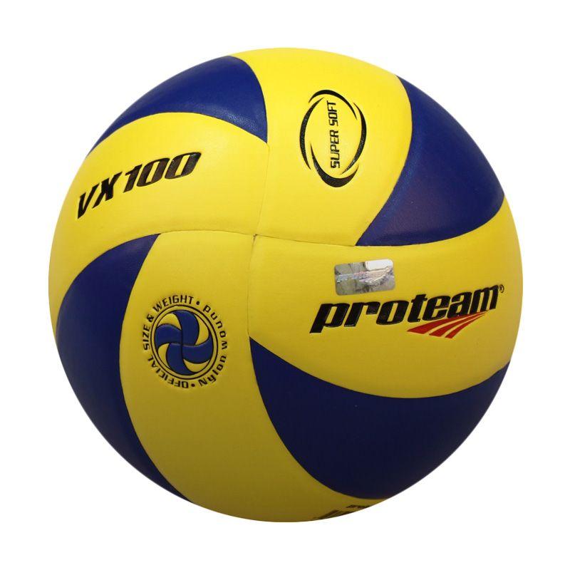 Proteam VX100 Biru Kuning Bola Voli