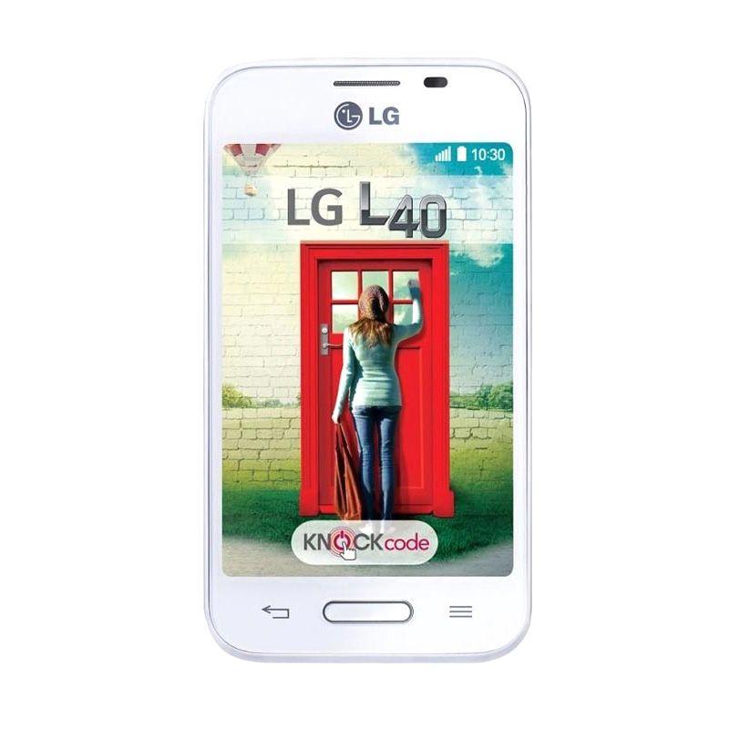 LG L40 White Smartphone