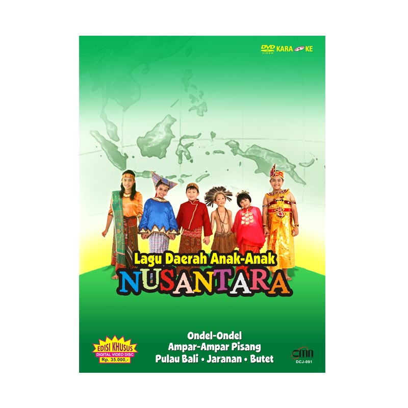 harga PT. Cakrawala Musik Nusantara DVD Lagu Daerah Anak Anak Nusantara Blibli.com