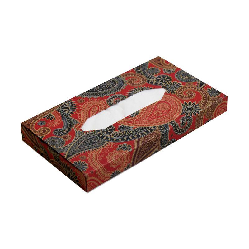 Keiko Kotak Tissue Travel Batik 02 Kotak Tissue