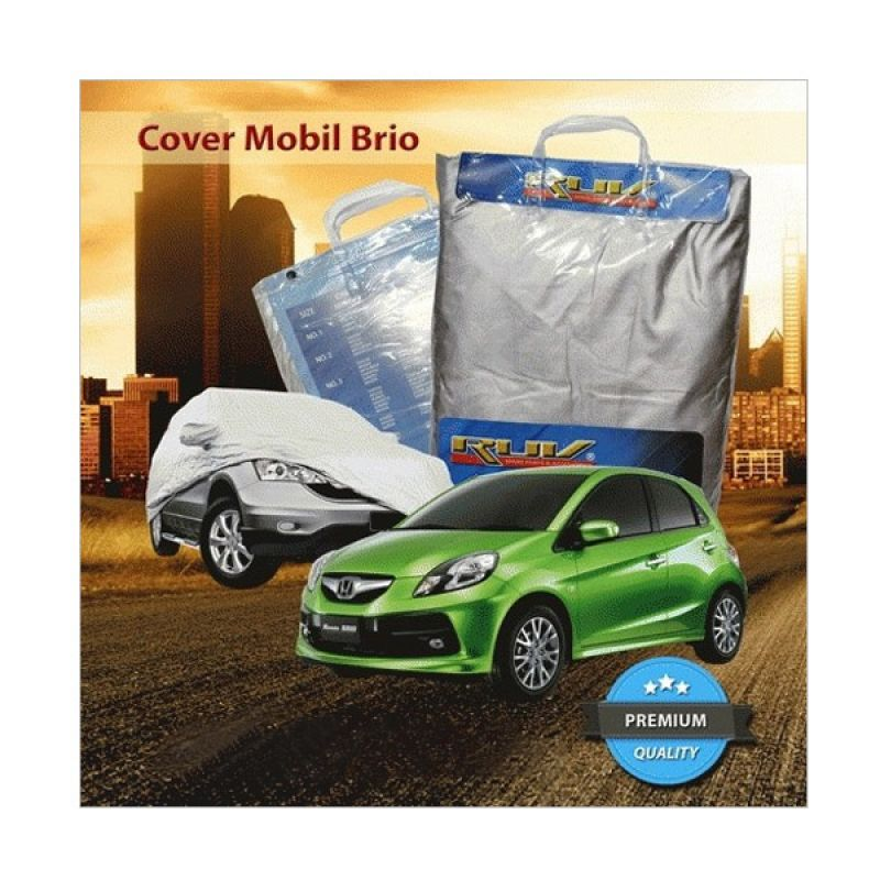 RUV Silver Cover Mobil for Honda Brio