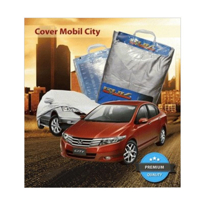 RUV Silver Cover Mobil for Honda New City/Suzuki New Baleno/Vios