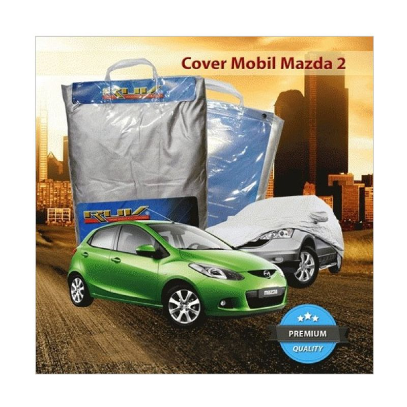 RUV Silver Cover Mobil for Mazda 2