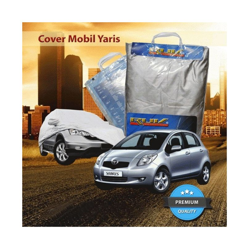 RUV Silver Cover Mobil for Toyota Old or New Yaris