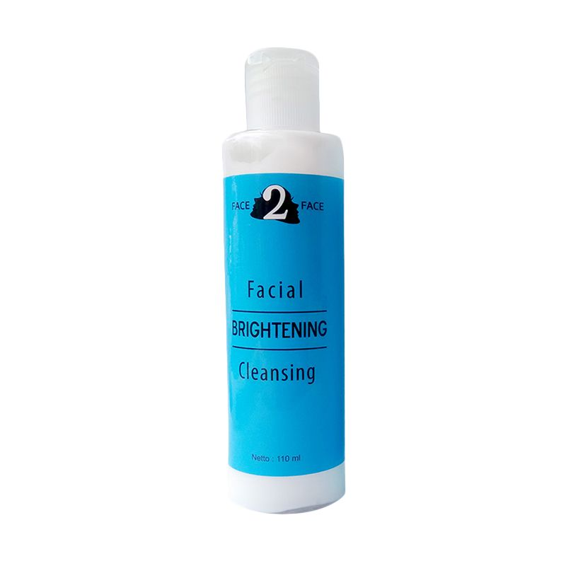 Face2Face Brightening Facial Cleansing Pembersih wajah [110 mL]