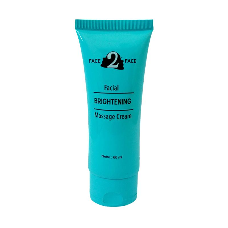 Face2Face Brightening Massage Cream [60 mL]