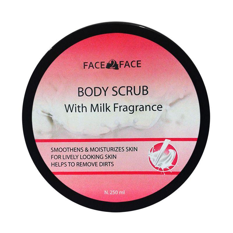 Face2Face Milk Fragrance Body Scrub [250 mL]