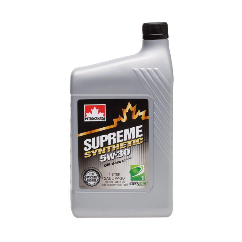Petro Canada Supreme Synthetic 5W-30 Oli Pelumas