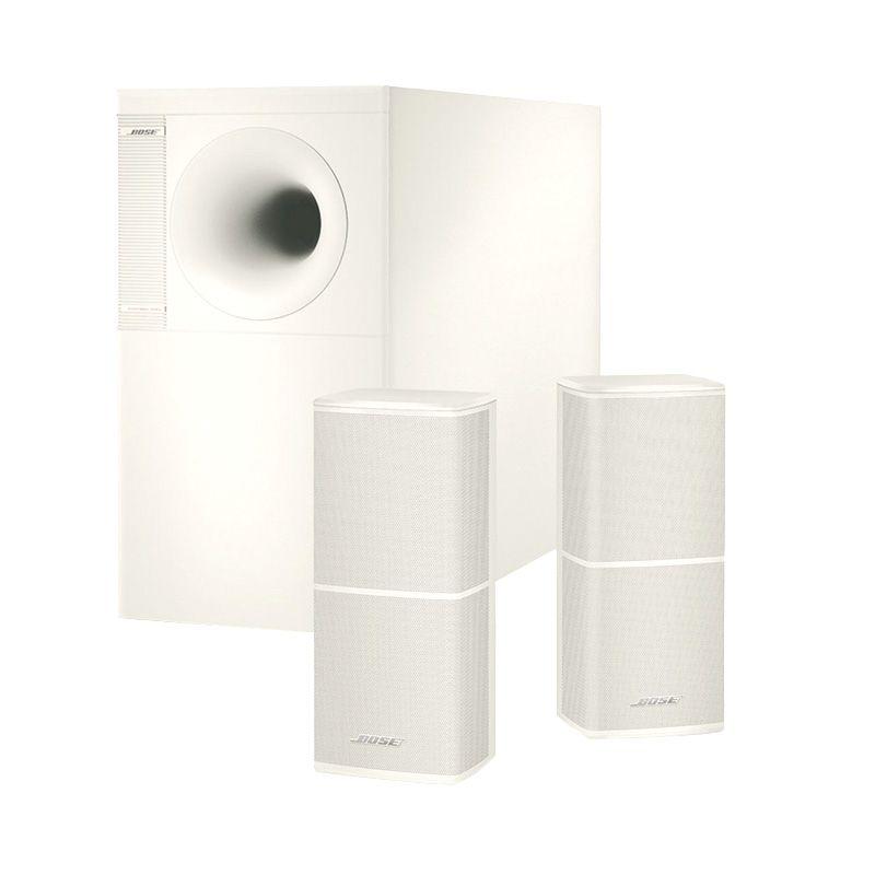 Bose Acoustimass 5 Series V Stereo System White Speaker