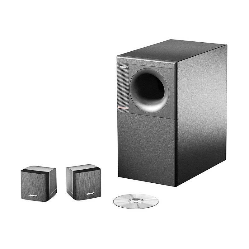 Bose Home Theatre Speaker Acoustimass AM3 Series IV - Hitam