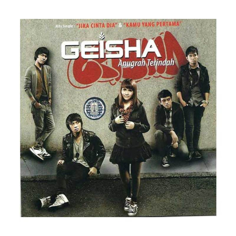 Musica Studios Geisha - Anugrah Terindah (MSD0432) CD Musik