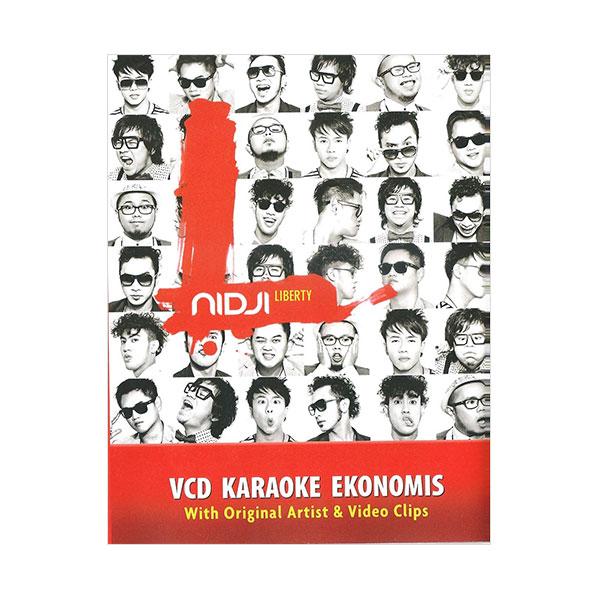 Musica Studios Nidji - Liberty Karaoke Ekonomis (MVE0015)  VCD Musik