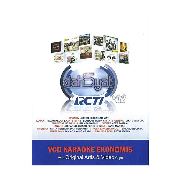 Musica Studios Various Artist - Dahsyat Vol 2 Karaoke Ekonomis (MVE0005) VCD Musik