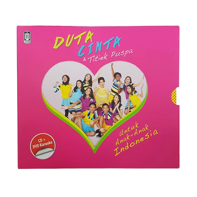 Musica Studios Duta Cinta dan Titiek Puspa - Untuk Anak-Anak Indonesia (MSD0507) VCD Karaoke & CD Musik