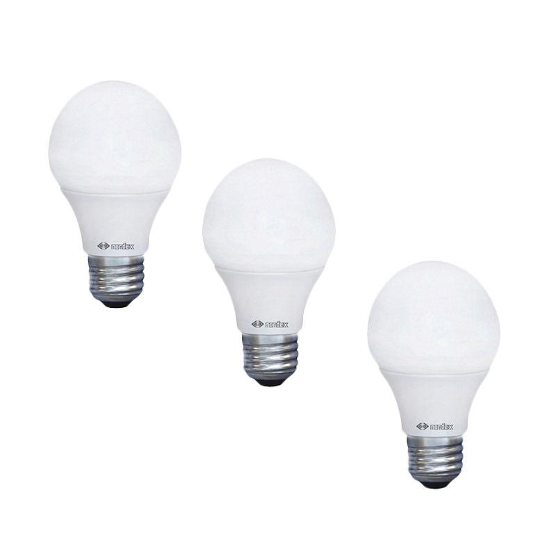 Nordex LED Kuning Lampu Bohlam [3.5 Watt/3 Pcs]