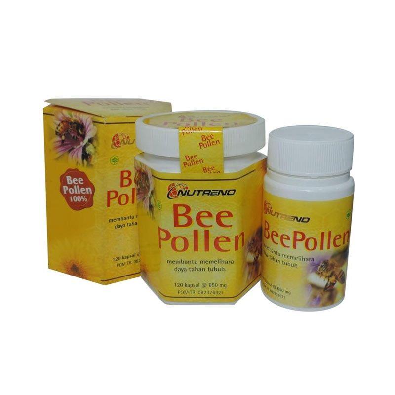 Nutrend Bee Pollen Supplement Kesehatan [120 Kapsul]