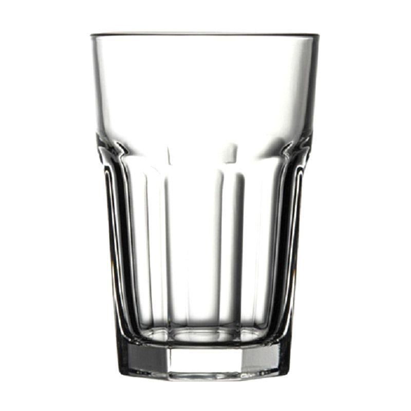 Pasabahce Casablanca Fully Tempered Tumbler Gelas [355 cc/6 Pcs]