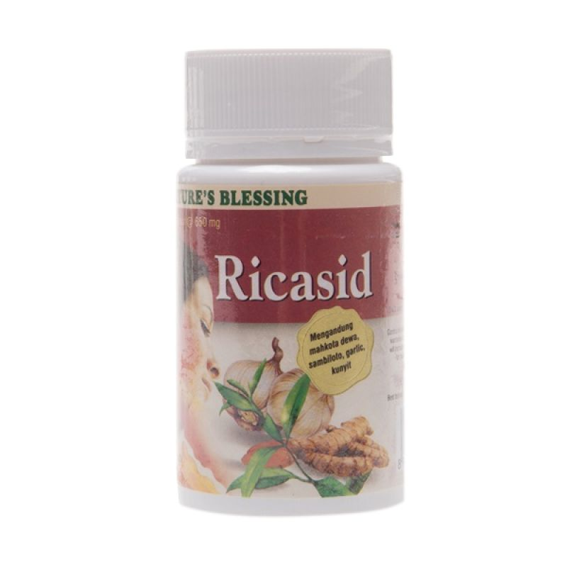 Nature's Blessing Ricasid Multivitamin [650 mg]