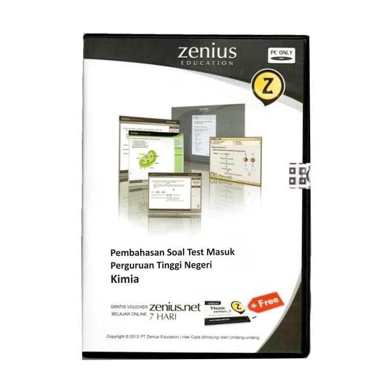 Zenius Multimedia Learning CD SMA [Pembahasan soal Kimia]