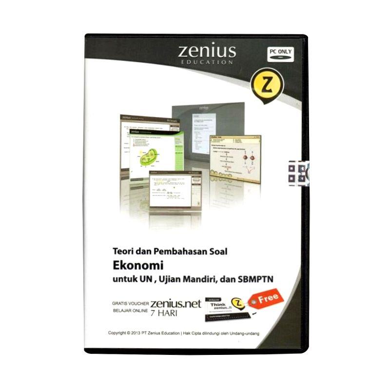 Zenius Multimedia Learning CD SMA [Teori dan soal Ekonomi]