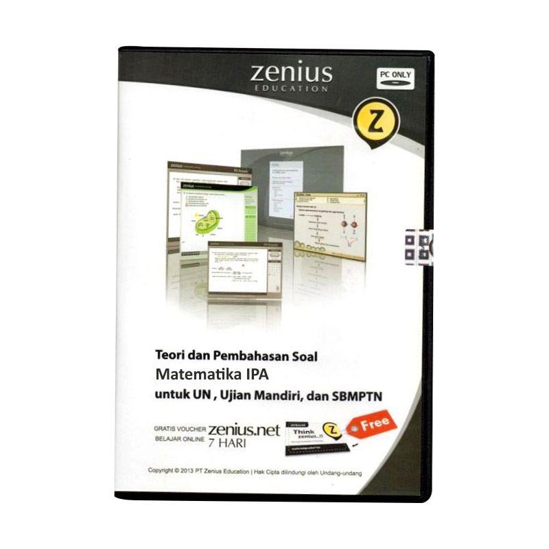 Zenius Multimedia Learning CD SMA [Teori dan soal Matematika IPA]