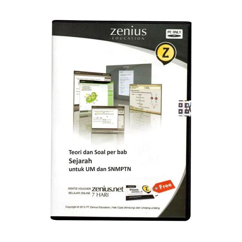Zenius Multimedia Learning CD SMA [Teori dan soal Sejarah]
