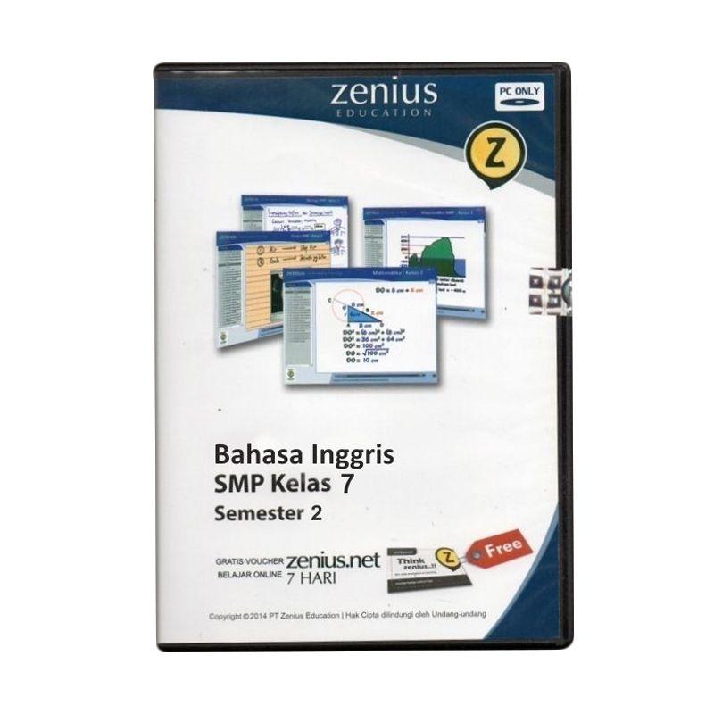 Zenius Multimedia Learning CD Software [Bahasa Inggris Kelas 7 Semester 2]