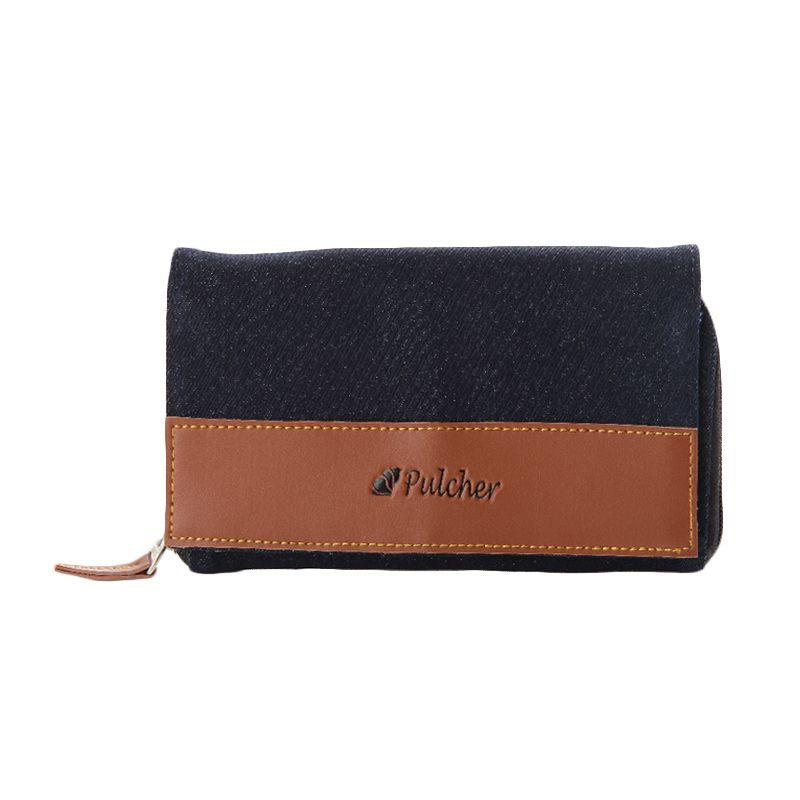 Pulcher Jeans Denim Black Dompet