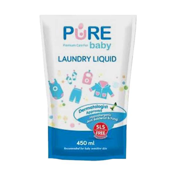 Pure Baby Laundry Liquid 450 ml Refill - Buy 2 Get 3