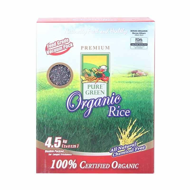 Pure Green Organic Beras Hitam 4.5kg