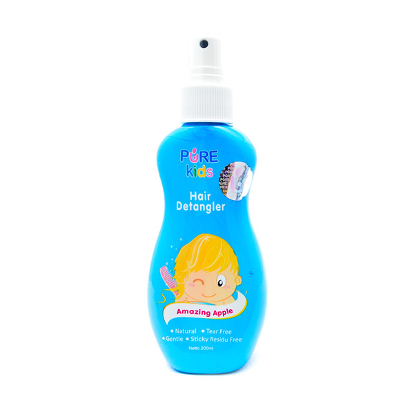 Pure Kids Hair Detangler Apple [200 mL]