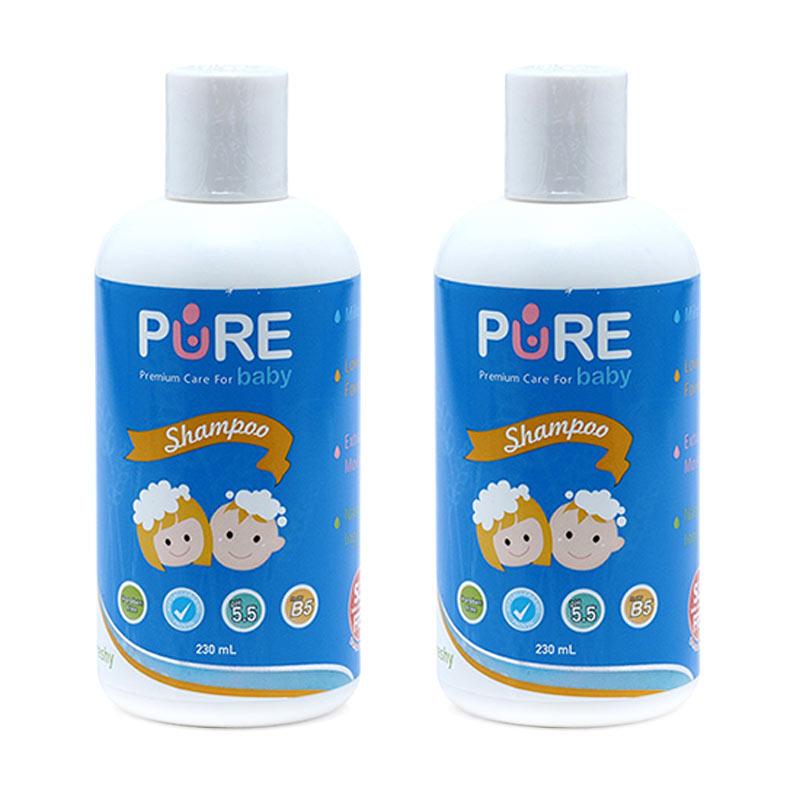PBC004 - Purebaby Fruity Shampoo [230 mL/2 Packs]