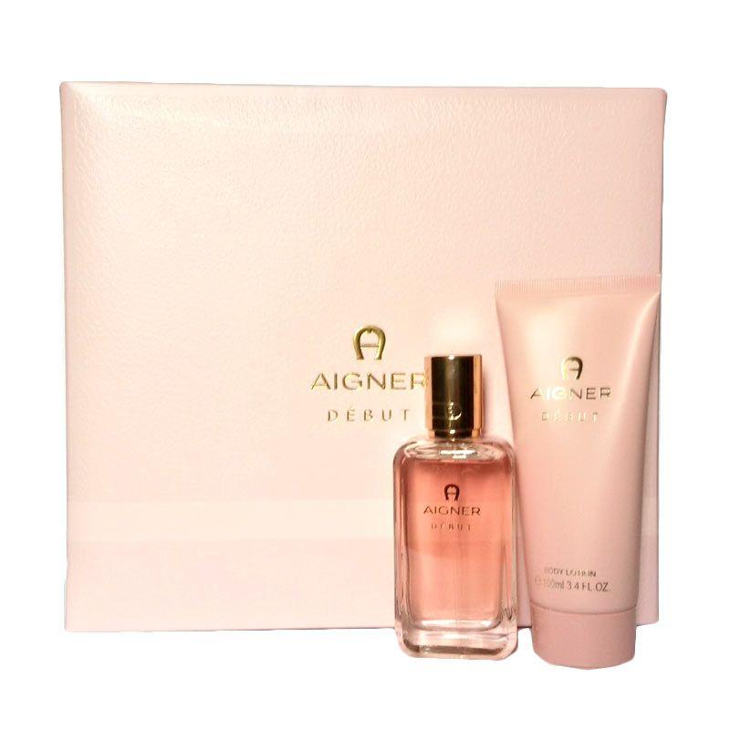 Etienne Aigner Debut EDP Parfum Wanita + Body Lotion dan lainnya [Gift Set]