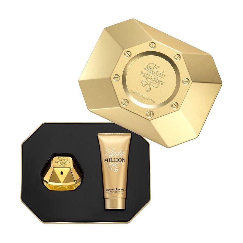 Paco Rabanne Lady Million Gift Set EDP Parfum Wanita