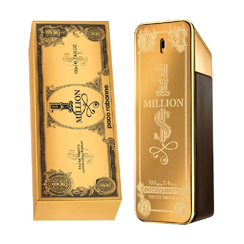 Paco Rabanne One Million Dollar EDT Parfum Pria [100 mL]
