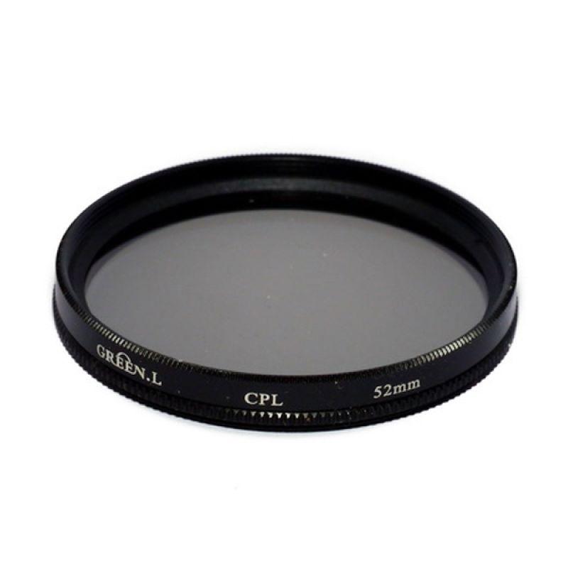 Green L Filter Lensa CPL 52mm Filter Lensa
