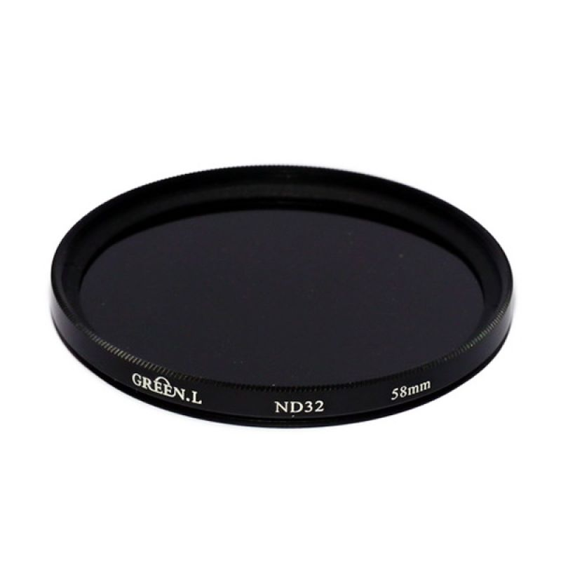 Green L Filter ND32 58mm Filter Lensa