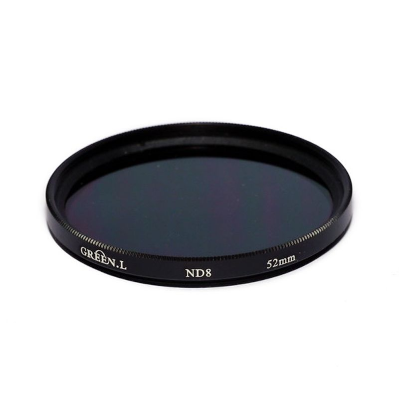 Green L Filter ND8 52mm Filter Lensa