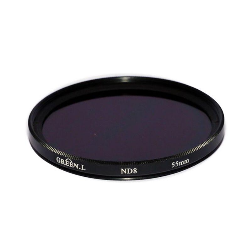 Green L Filter ND8 55mm Filter Lensa