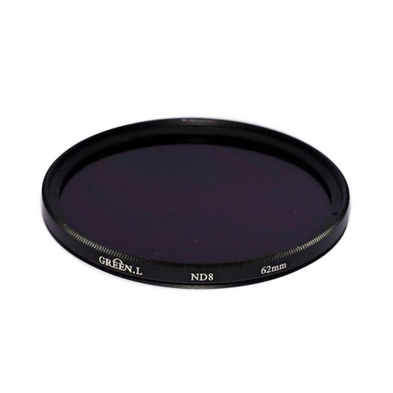Green L Filter ND8 62mm Filter Lensa