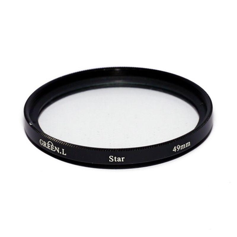 Green L Filter Star 6 49mm Filter Lensa