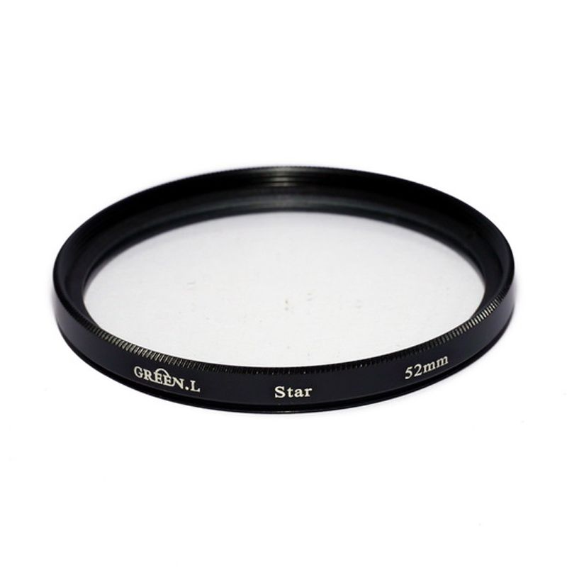 Green L Filter Star 6 52mm Filter Lensa