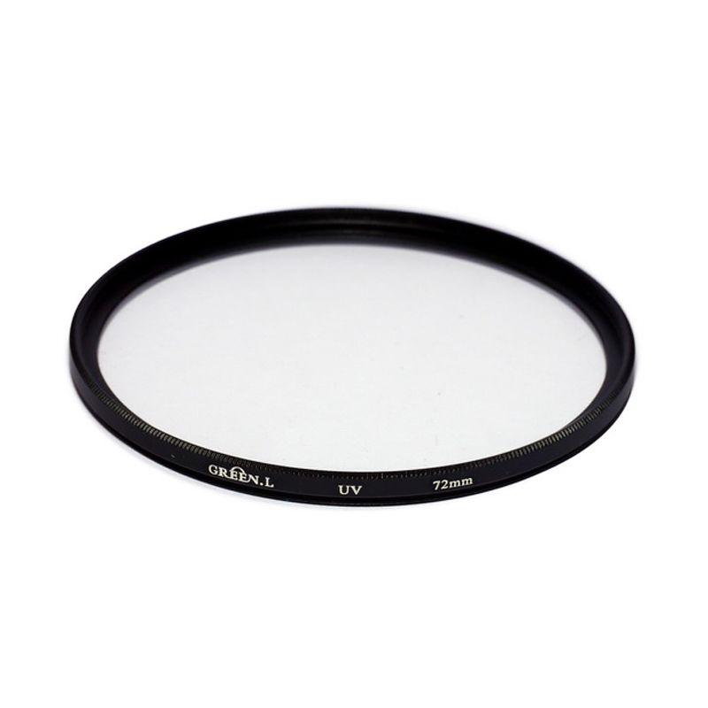 Green L Filter UV 72mm Filter Lensa