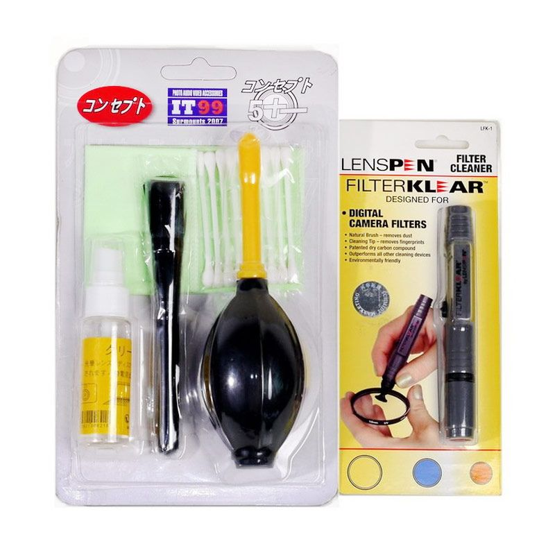 IT99 Hitam Paket Lenspen dan Cleaning Kit Aksesoris Kamera [Large]