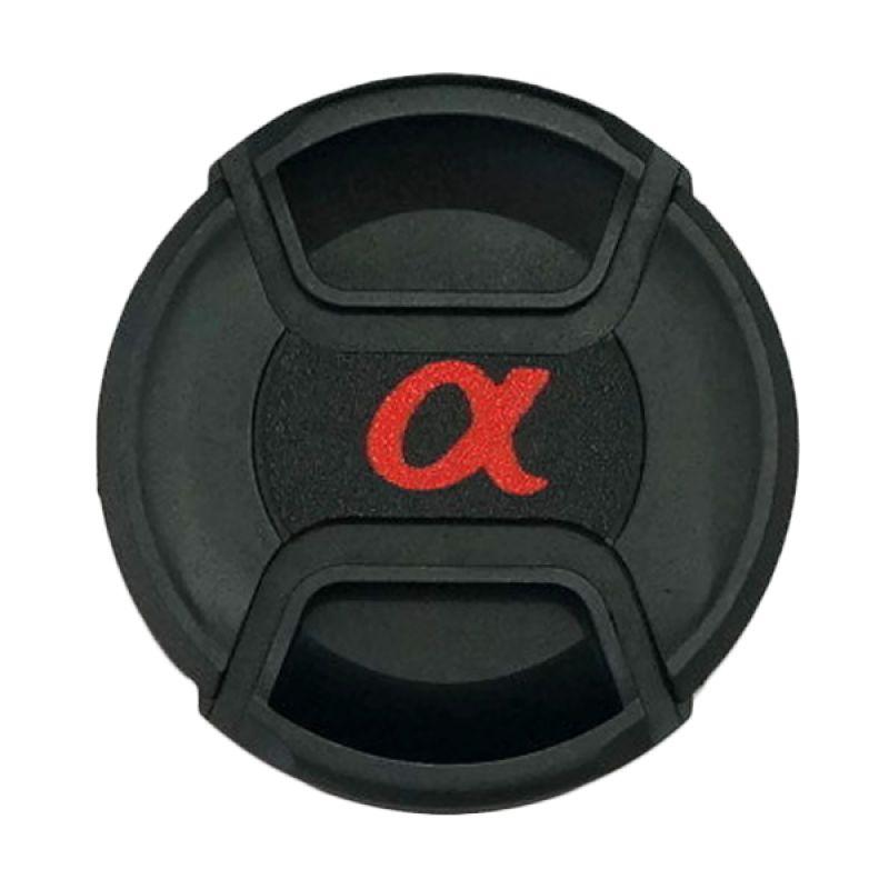 Sony Alpha 62mm Black Lens Cap
