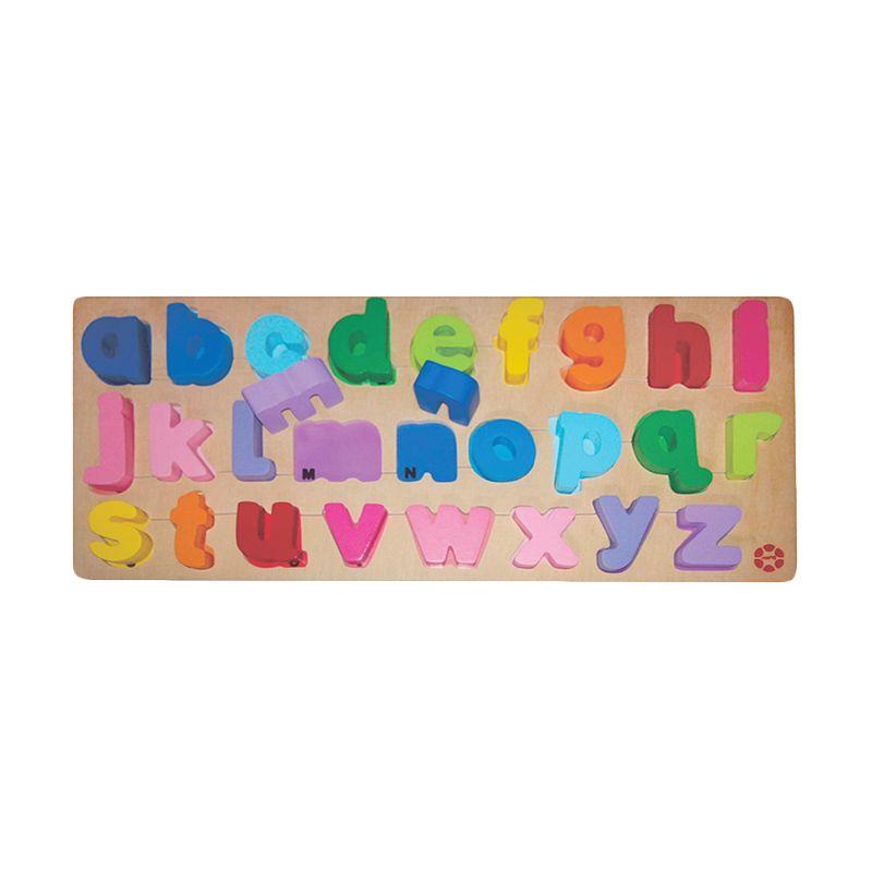 Puzzleku abc Chuncky Puzzle Mainan Anak [Small Letters]