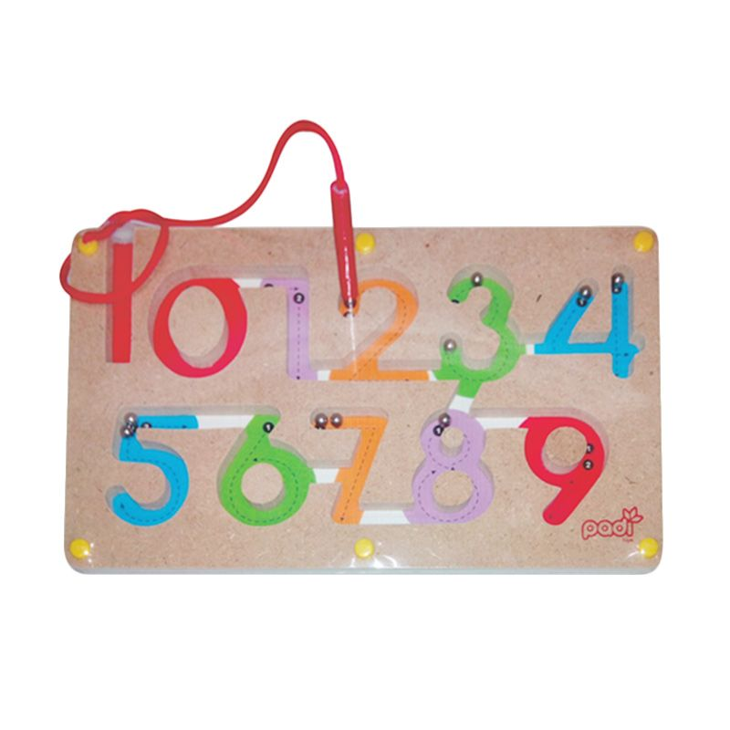 Puzzleku Magic Maze 123 Mainan Anak [Belajar Menulis Angka]