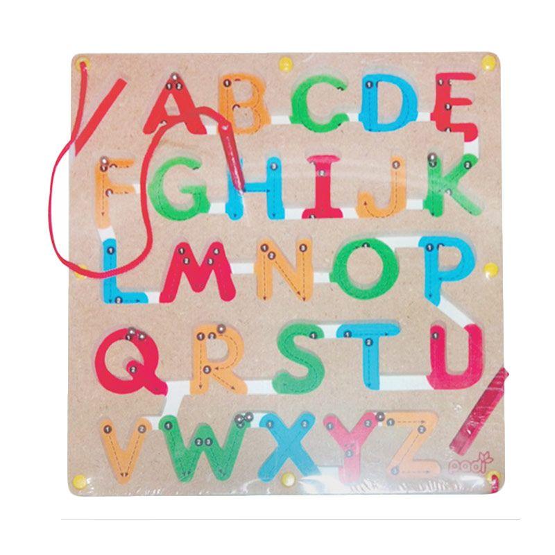 Puzzleku Magic Maze ABC Mainan Anak [Belajar Menulis Huruf]